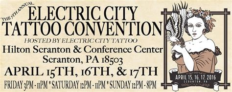 electric city tattoo 2016 electric city convention scranton pa