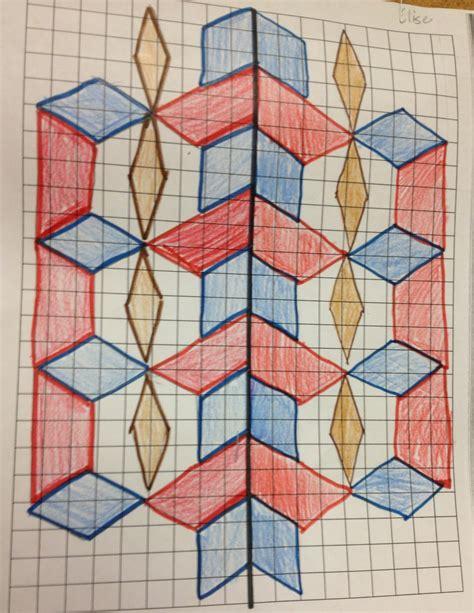 symmetrical designs the 4th grade may niacs symmetrical creations