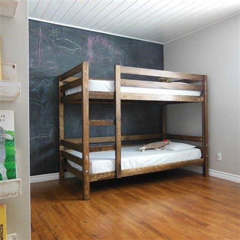 built  simple diy bunk bed   kids
