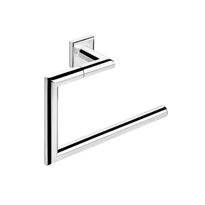 pom d or bathroom accessories pom d or kubic class towel ring chrome 432057