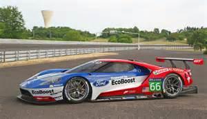 Race Cars Ford Gt Lm Gte Pro Race Car Unveiled For 2016 Le Mans
