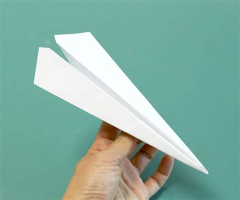 Aeroplane With Paper - how to make the fastest paper airplane