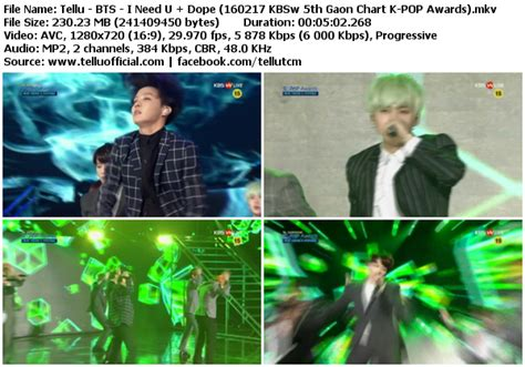 download mp3 bts so 4 more download perf bts i need u dope kbsw 5th gaon