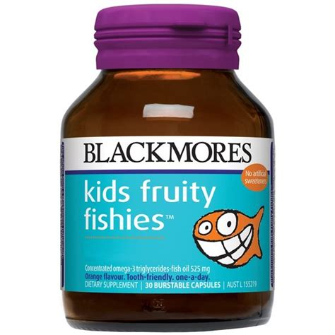 Blackmores Brain Active 30 Caps blackmores fruity fishies 30 capsules amcal chempro chemist