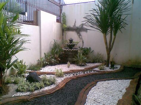 desain taman depan rumah lahan sempit asri dan cantik