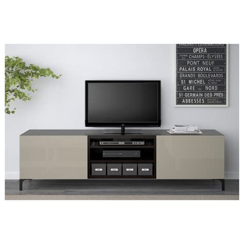 ikea oppli tv bench best 197 tv bench with drawers black brown selsviken high