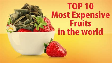 Would You Indulge In The Worlds Most Expensive Desserts by Top 10 Most Expensive Fruits In The World