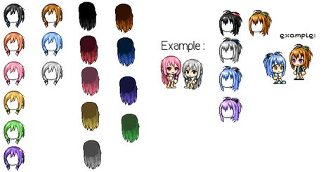list of maplestory faces used in animations maplestory mixed hair by oribani on deviantart