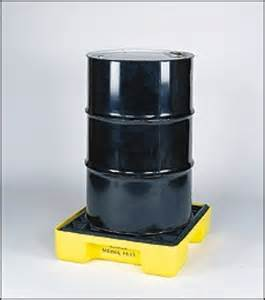 SPILL SOURCE   SPILL CONTAINMENT: DRUM SPILL PALLETS   EAGLE 1 DRUM