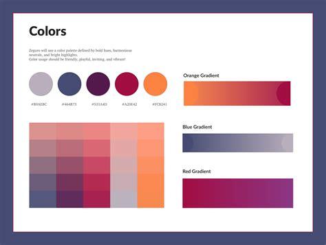layout style guide zeguro style guide brand design angellist