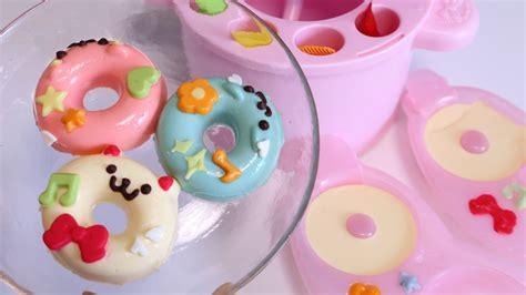 Toys Donuts Whitesugar no bake soft doughnuts maker new cooking