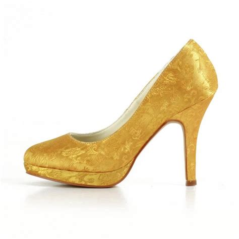 Wedding Shoes Golden by Golden Wedding Shoes Bridal Shoes
