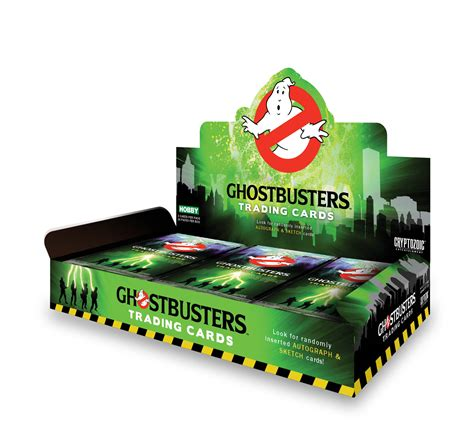 Gift Card Trading - ghostbusters trading cards cryptozoic entertainment