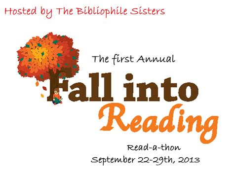 I Blog 4 Books Fall Into Reading Read A Thon My Goals Fall Into A Book Template