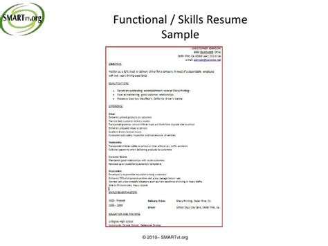 Functional Vs Chronological Resume by Functional Vs Chronological Resume Free Resume Templates