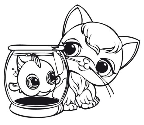 coloring pages for littlest pet shop free coloring pages of lps puppy 2