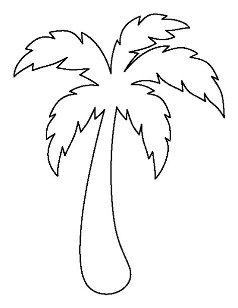 Printable Coconut Tree Template search results for tree outline template calendar 2015