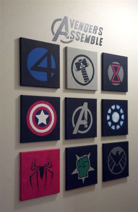 10 best marvel wall decor ideas home design and