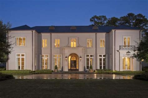 neoclassical home neoclassical style home in piney point houston chronicle