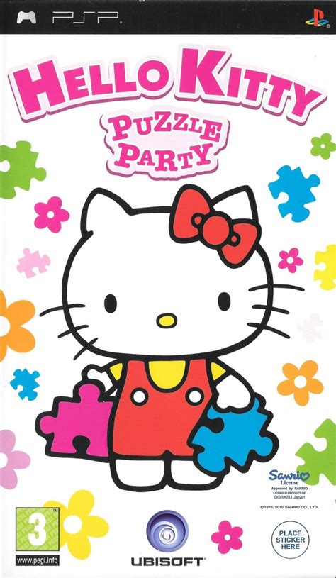 hello kitty themes psp hello kitty puzzle party for psp 2009 mobygames
