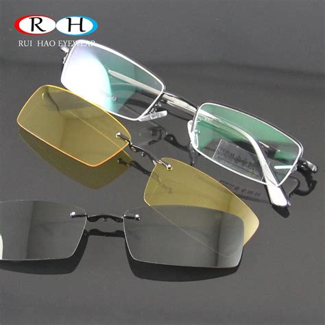 s glasses frame 2pcs magnetic clip on sunglasses glasses frames eyeglasses eyewear frame 2pcs