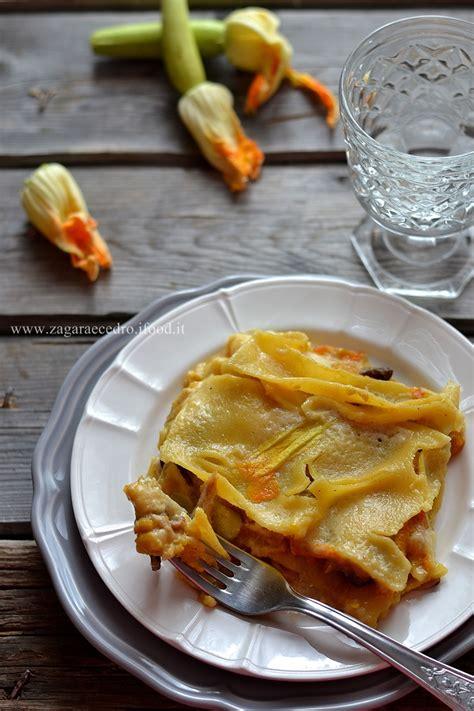 lasagne con fiori di zucca lasagne zucca e fiori 6 zagara e cedro