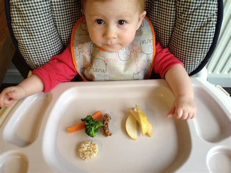 when do babies start table food birth of a baby led weaning update