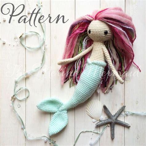 pinterest mermaid pattern miriam the mermaid crochet amigurumi doll toy by