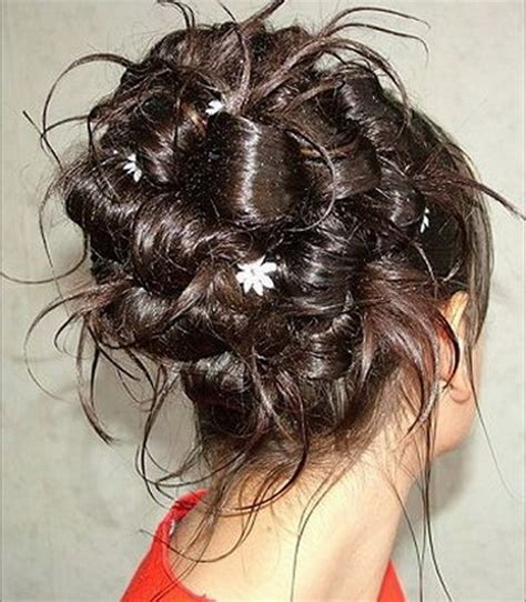 homecoming hairstyles with flowers prom hairstyles with flowers