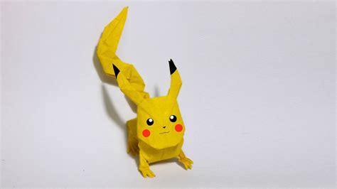 Origami Pikachu Box - origami go origami pikachu tutorial henry