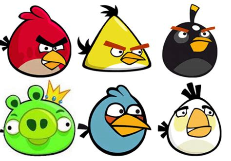 Angry Birds enjoy the handmade hama angry birds