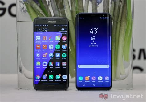 Samsung S8 S7 Blind Comparison Samsung Galaxy S8 And Galaxy S7