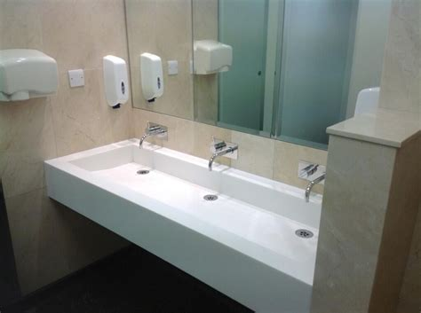 Commercial Vanity by Stantons New Haw Vanity Tops Units