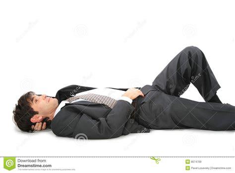 laying on back lying on back businessman royalty free stock images image 8074709