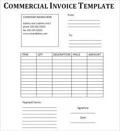 Ups Commercial Invoice Template Commercial Invoice Template Fee Download Pdf