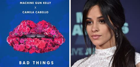 camila cabello bad things camila cabello is dropping a brand new song but she s