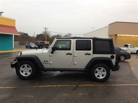 Jeep Wrangler Unlimited X For Sale 2007 Jeep Wrangler Unlimited X For Sale In Rome Ga