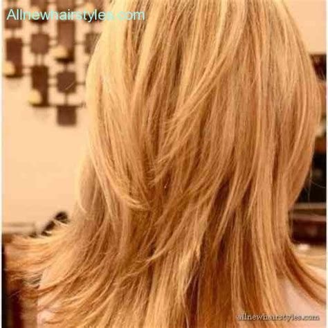 back views of long layer styles for medium length hair long layered hairstyles back view