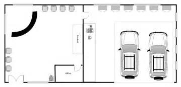 Workshop Floor Plan Software Auto Repair Shop Layout