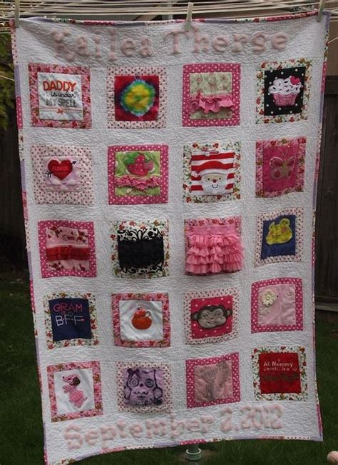 The Memory Quilt by 1000 Ideas About Baby Memory Quilt On Memory