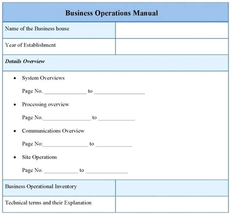 it operations manual template it operations manual template pictures gt gt policies
