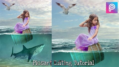 picsart fantasy tutorial under water fantasy manipulation effects picsart editing