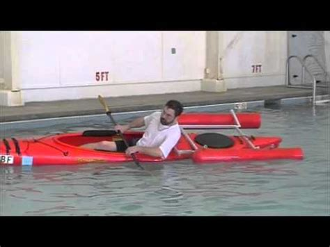boat stabilizers australia crane creek kayaks kayak stabilizer youtube