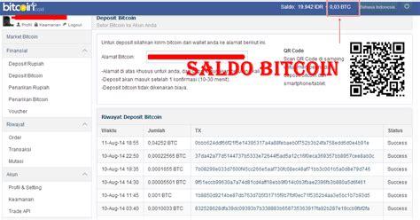 bitcoin rupiah cara mencairkan bitcoin ke rupiah informasi bisnis