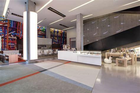 home design stores cincinnati contemporary arts center lobby by frch design worldwide