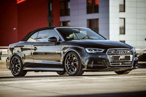 Audi S3 Cabrio Preis by Official 2017 Abt Audi S3 Cabriolet Gtspirit
