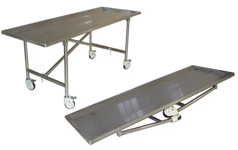 Folding Stainless Steel Table Best Price Caskets Model Tbl 104 Stainless Steel Folding Embalming Table Folds For Storage When