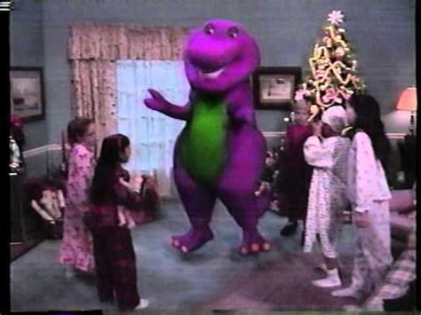 barney and the backyard gang christmas opening the rock 1996 vhs videos vidoemo emotional