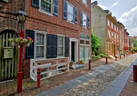 oldest street in philly listed 4 luxury homes on america s oldest residential