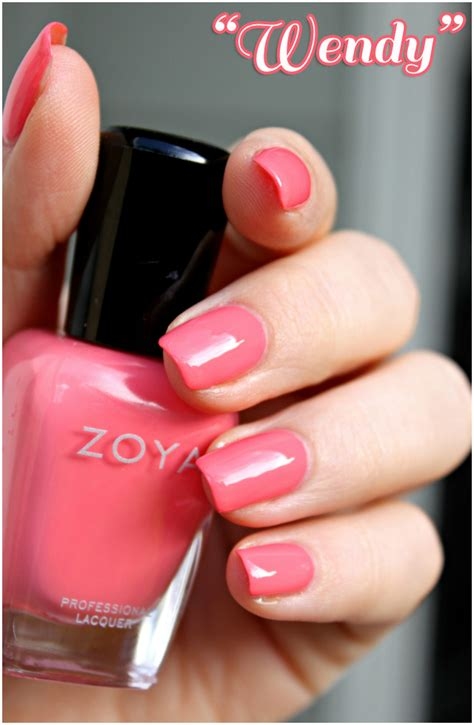 beach her colors were pink lots of pink with her love of the beach my mom s zoya haul part i the pinks glamorable